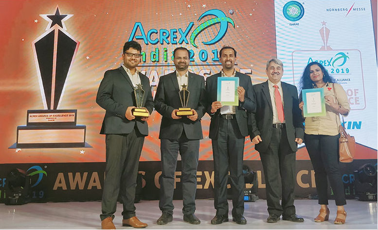 Thermax Ltd. won the 'ACREX Award of Excellence 2019' in the 'Energy Saving' category