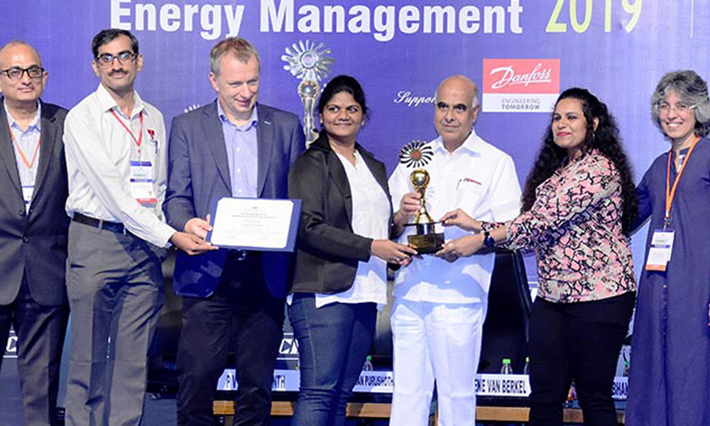Thermax's innovative and energy-efficient 'Hybrid Heat Pump' wins the prestigious 'Most Innovative Energy Saving Product' award from CII at the National Award for Excellence in Energy Management 2019.