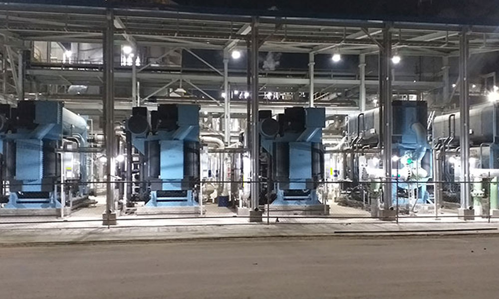 Thermax commissions five chillers for a fertiliser & chemical major