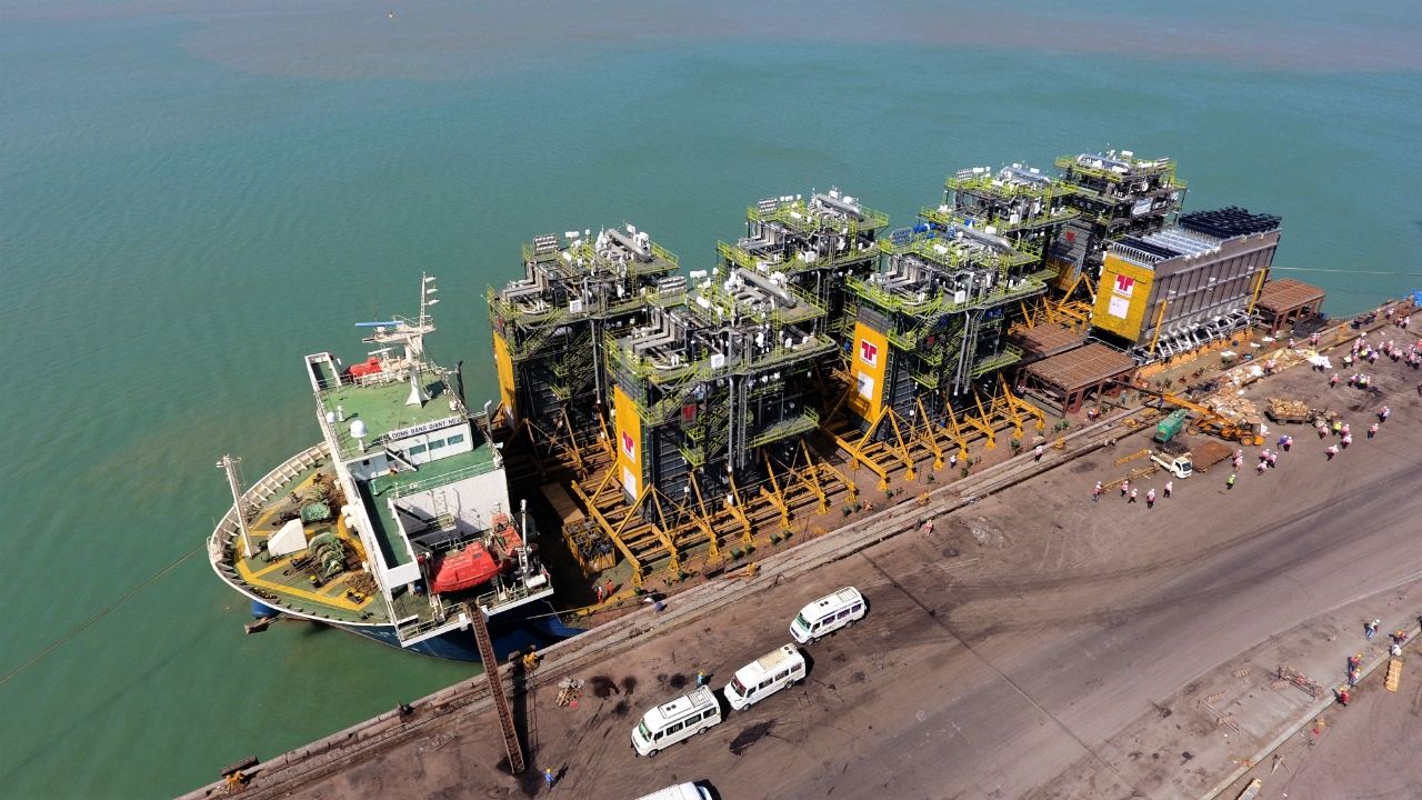 Modularised utility packages for the largest refinery in Africa
