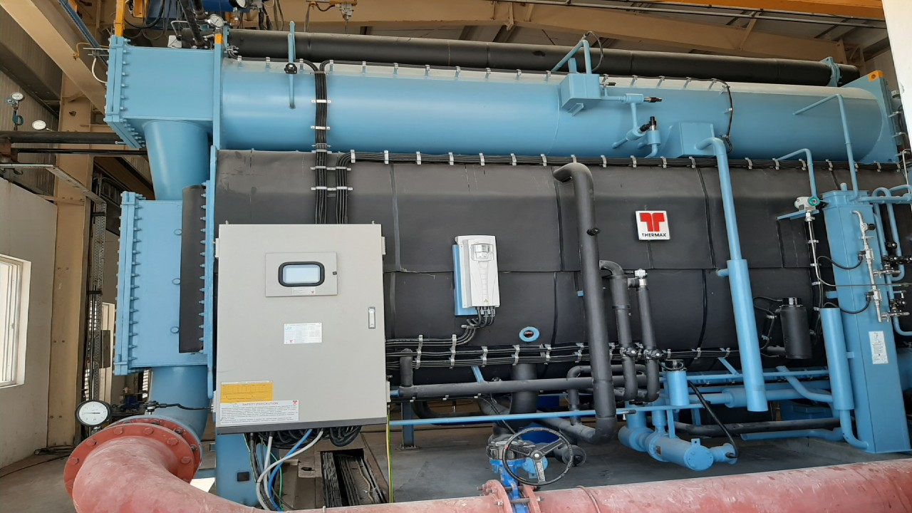 A leading paper manufacturing company in the UAE installs Thermax's chiller-heater