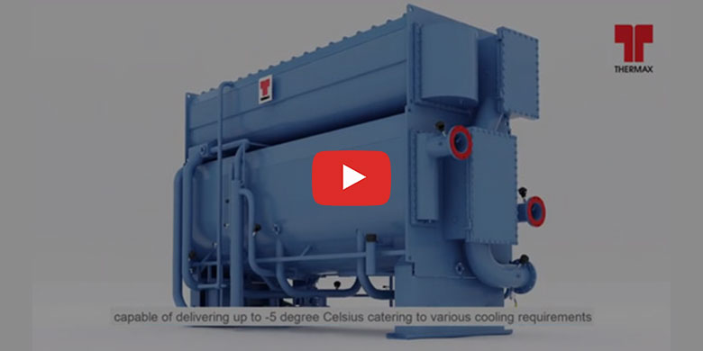 Curious to know how Thermax's vapour absorption chiller operates?